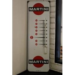 plaque métal thermomètre...
