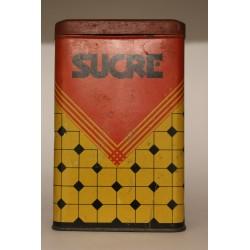 boite métal sucre