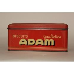 BOITE A SUCRE VINTAGE ADAM